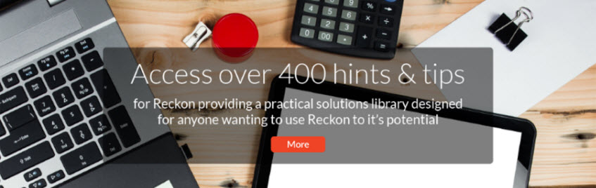 500+ Answer Sheets for Reckon Accounts